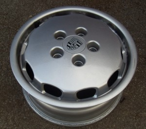 Porsche 928 Wheels Polished For Lupo At Ultimate Dubs 2010