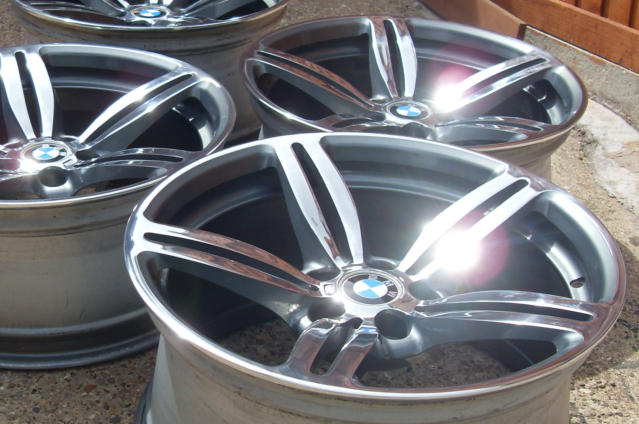 front gunmetal lugs org sale for donington by rims bmw alloy tsw wheels std