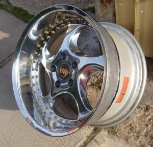 Porsche Artec 2 Piece Split Rims For Vw Golf Mk3 Vr6