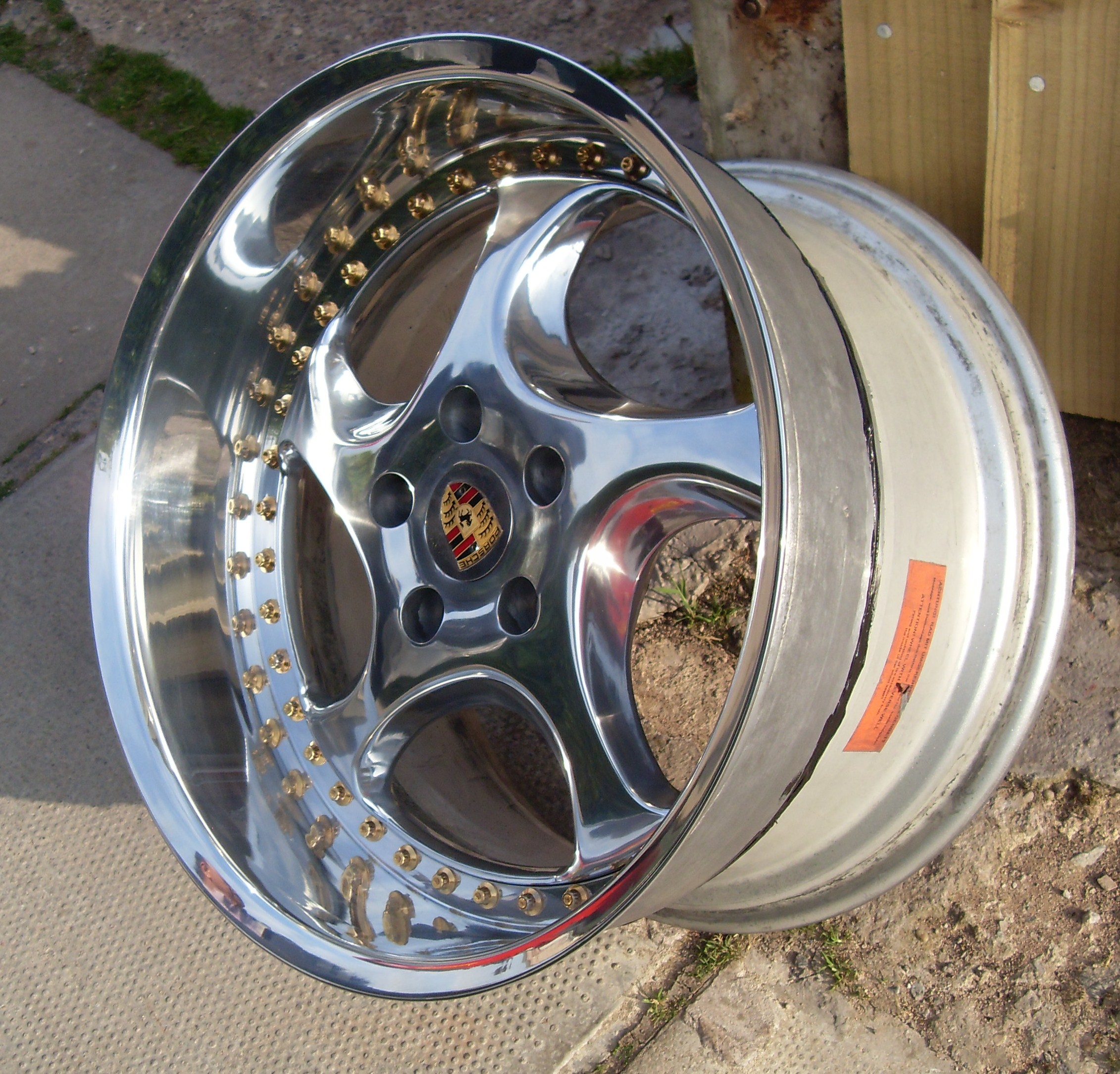 Porsche Artec 2 Piece Split Rims For Vw Golf Mk3 Vr6