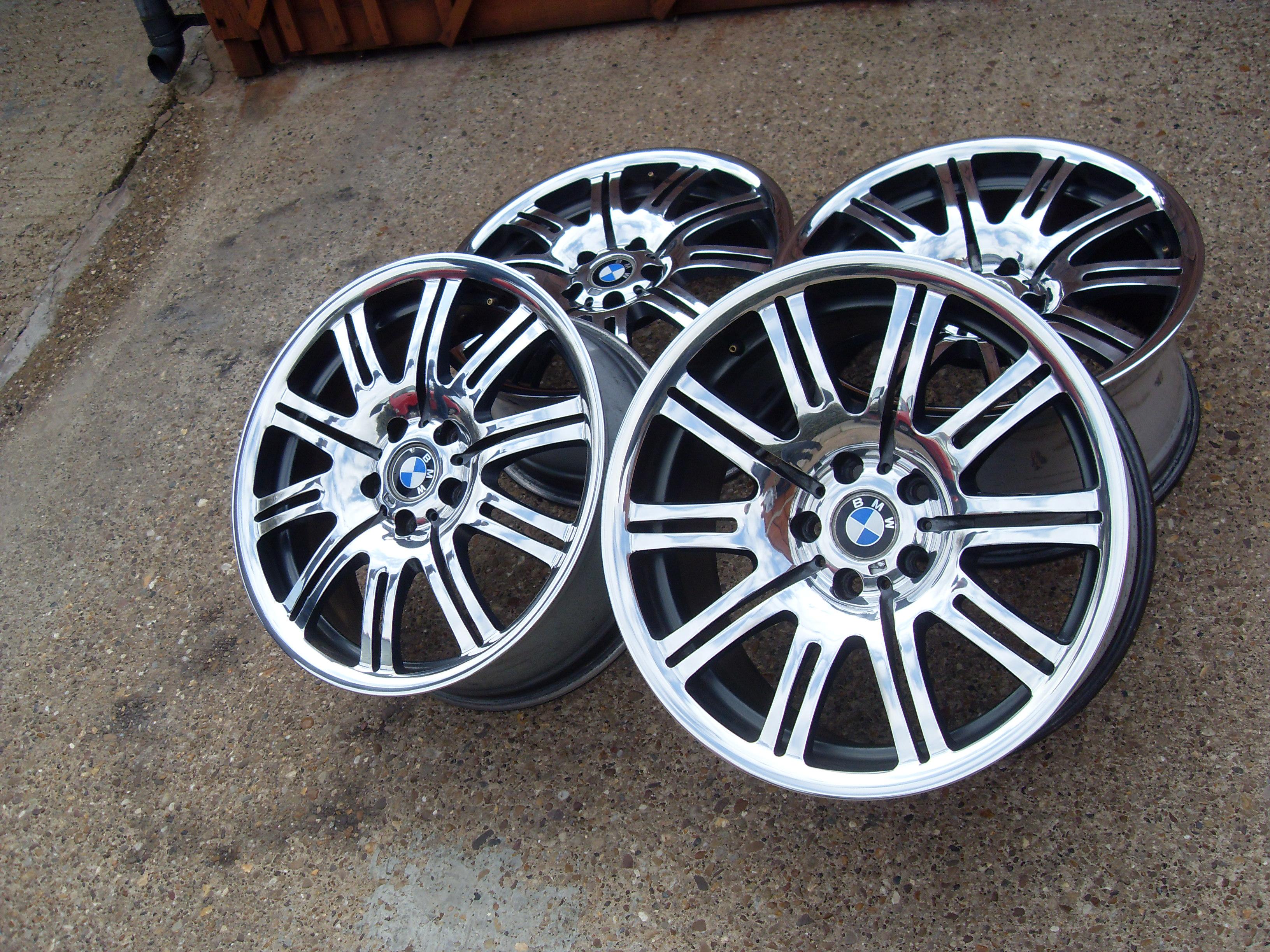 Bmw E46 M3 Wheels Refurbished And Mirror Polished Pureklas