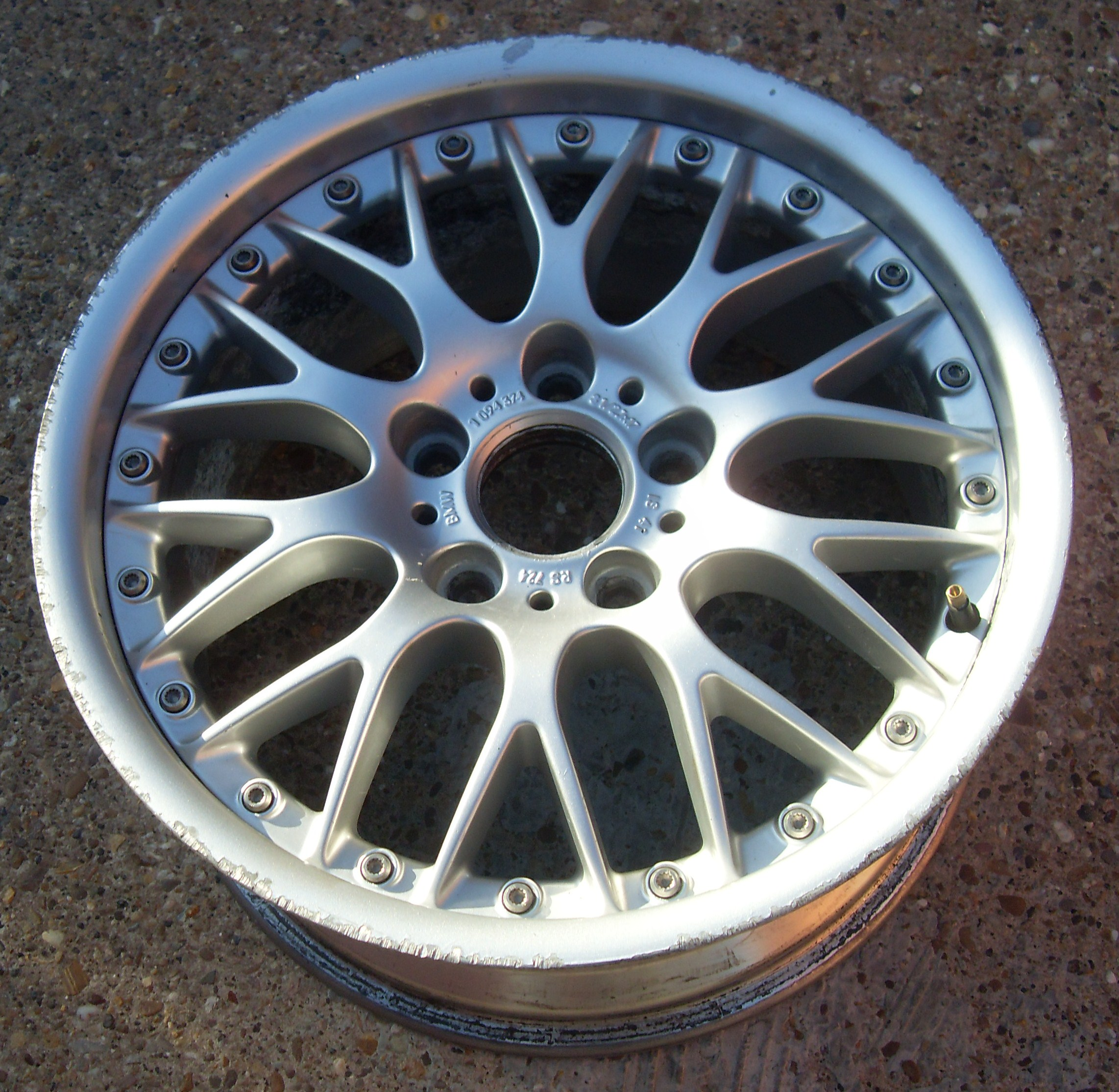 Bmw Z3 Bbs Split Rim Wheels Refurbished Polished Amp Powder