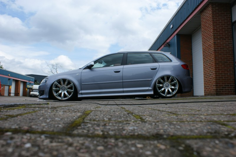 Audi A8 Wheels On An A3 Faces Mirror Polished Pureklas
