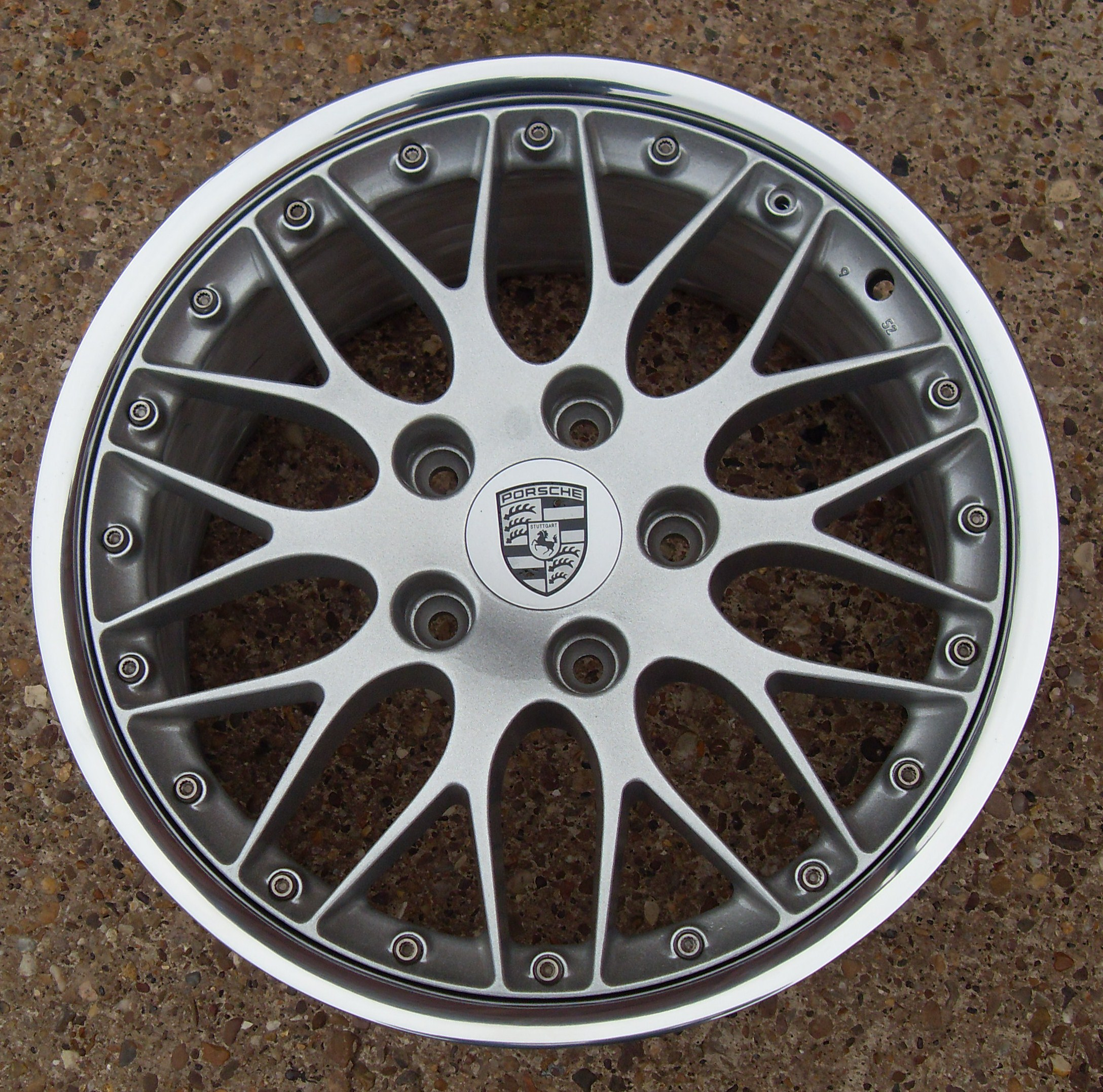 Porsche Split Rim Wheel Refurbishment Pureklas