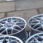 Chrome powder coated BBS RC and Rage Forged alloy wheels by pureklas
