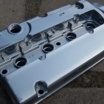 Chrome powder coated rocker cover by pureklas