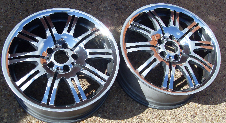 Bmw E46 M3 Alloy Wheel Refurbishment Mirror Polished Pureklas