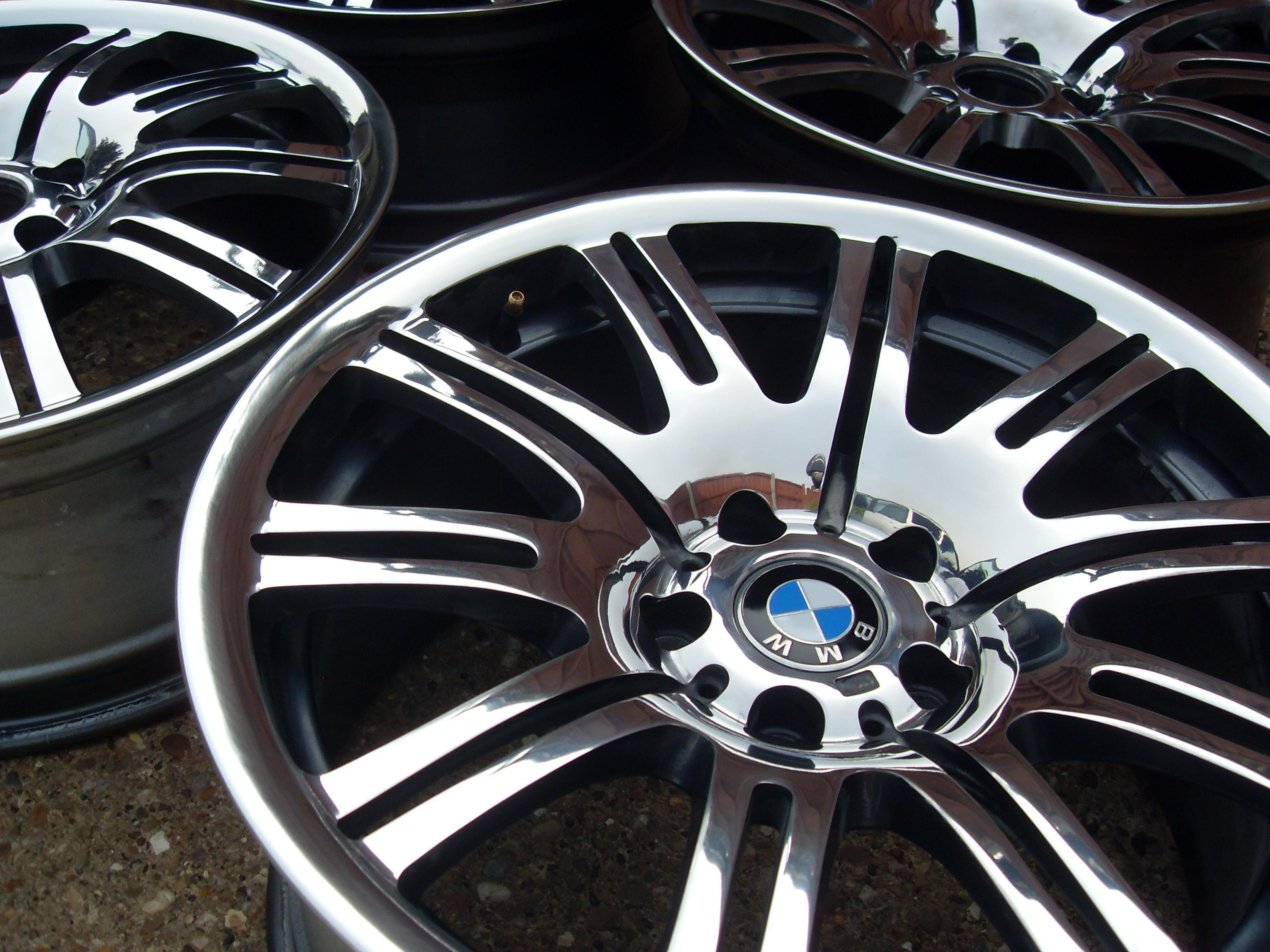 179cf3fb0a7 BMW E46 M3 Alloy Wheel refurbishment