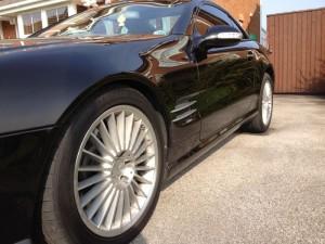 MERCEDES SL prestige alloy wheel refurbishment by www.pureklas.co.uk