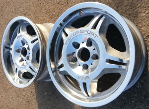BMW BMW M3 wheels Polished and Lacquered by www.pureklas.co.uk