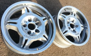 BMW m3 wheels polished and lacquered by www.pureklas.co.uk