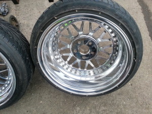 WRD split rims refurbished by www.pureklas.co.uk