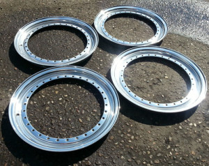 BBS RS dishes, lips 0.5 mirror polished x 4 16 inch