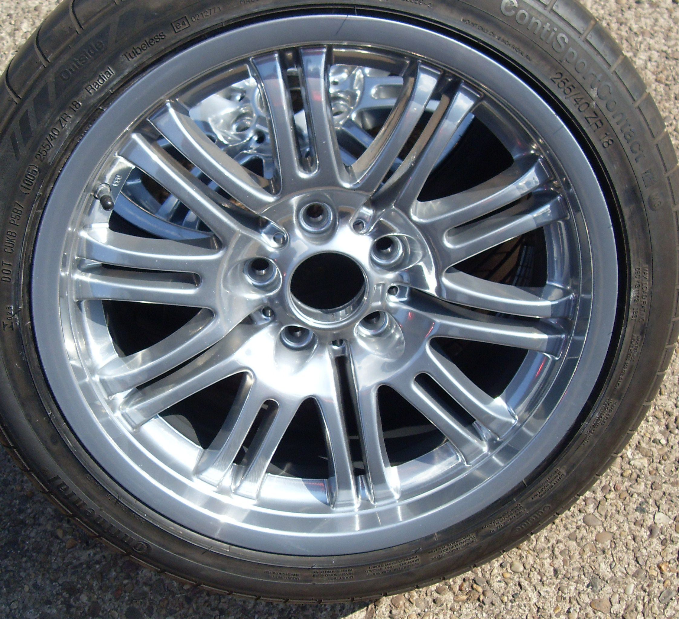 Painted & Refinished OEM 19's - The M3cutters - UK BMW M3 ...