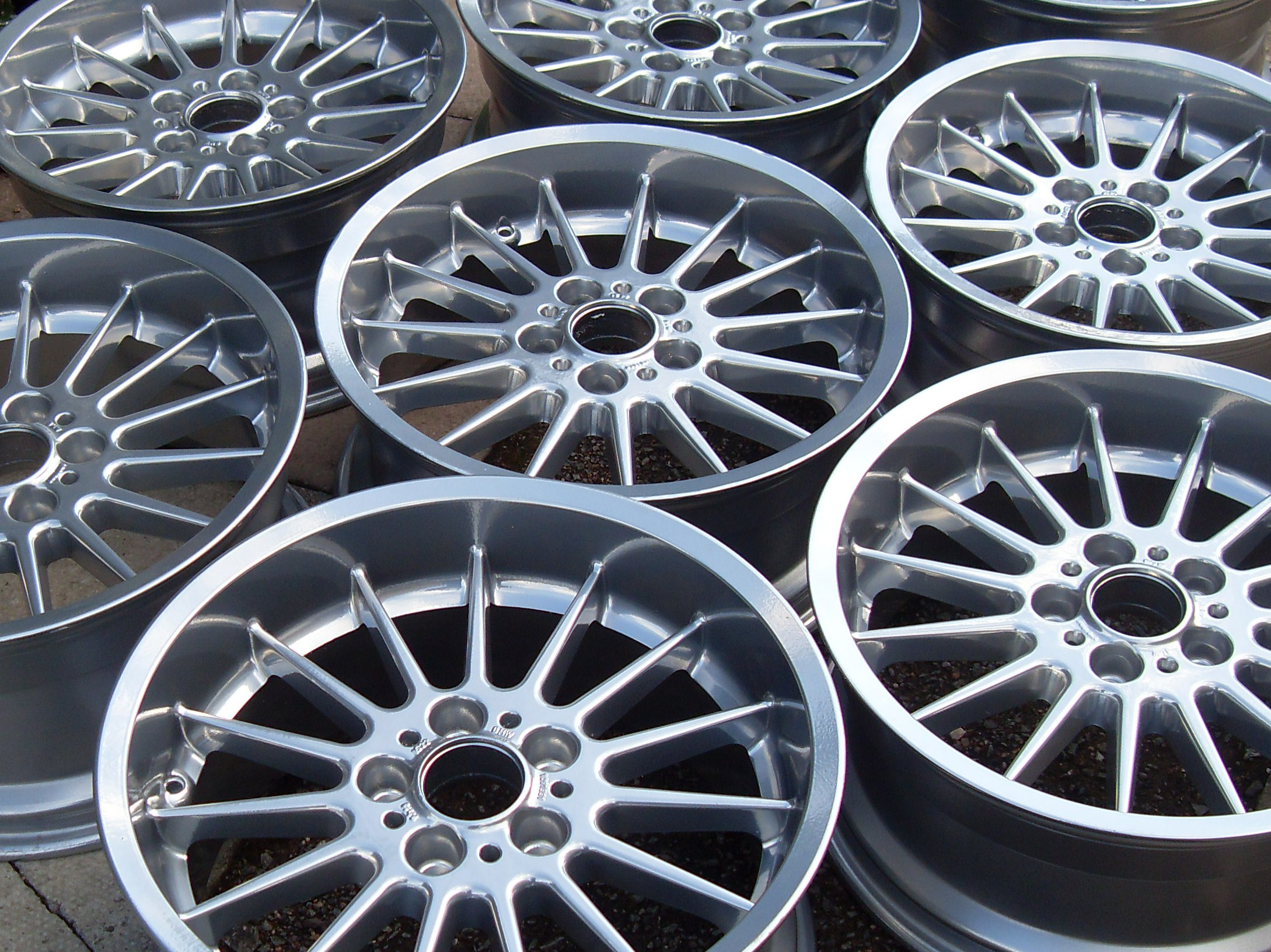 How much to powder coat rims uk