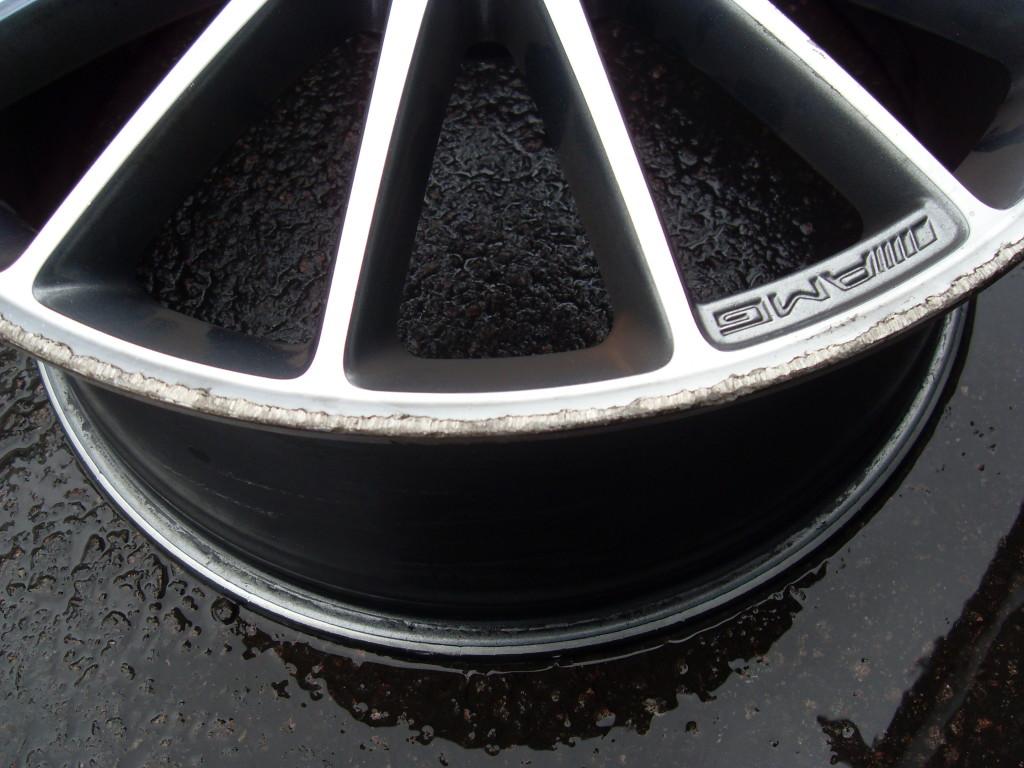 Kerb damage on C63 amg wheel