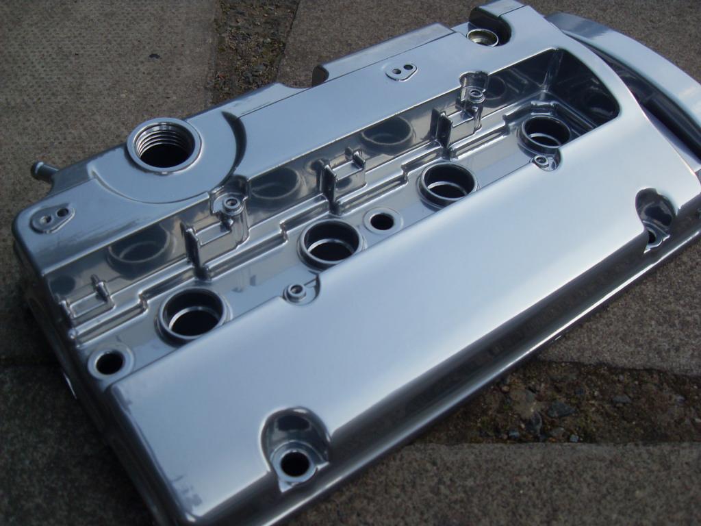 Chrome powder coating wheels - PureKLAS